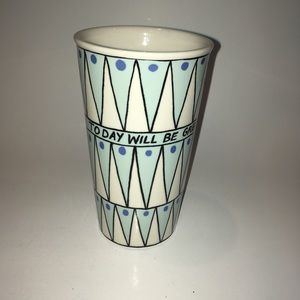 Molly hatch Anthropologie ceramic tumbler